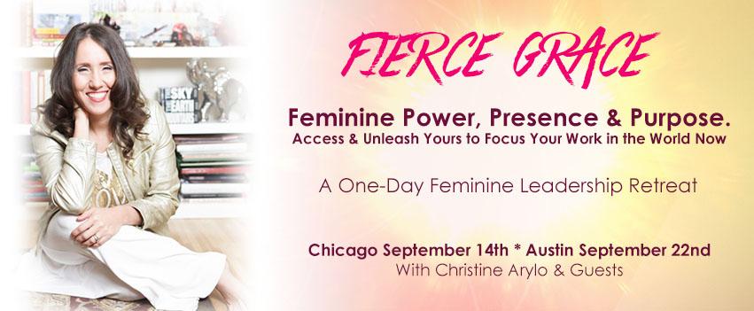 fierce grace feminine leadership one day retreat arylo events