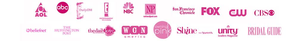 media page logos