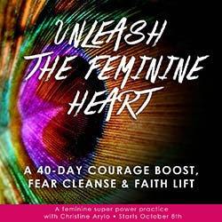 unleash feminine heart oct 8