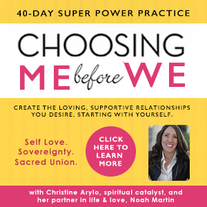 Self Love Course Choosing Be Before WE
