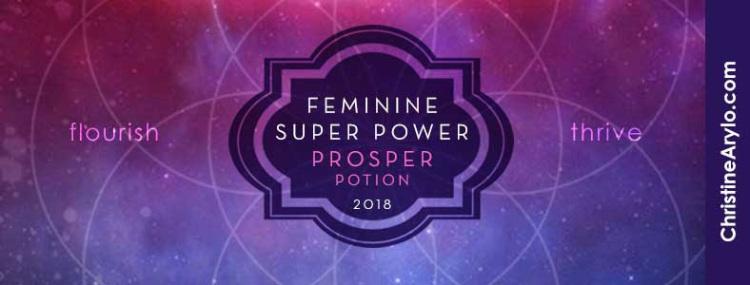 prosper potion 2018