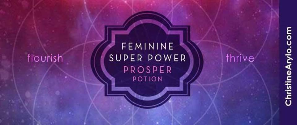 Feminine Super Power Prosper Potion