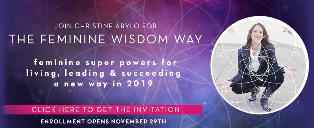 the feminine wisdom way with christine arylo