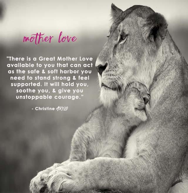 mother love christine arylo