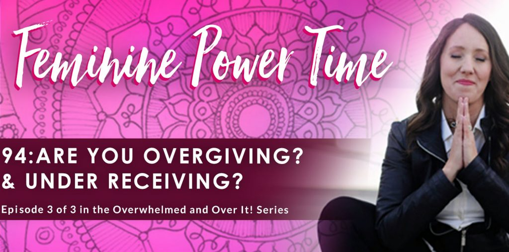 are you overgiving and under receiving
