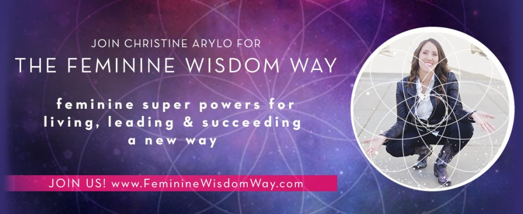 femininewisdomway with christine arylo