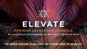 Elevate Banner Feminine Leadership Councils