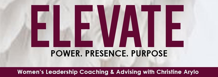 Elevate Feminine Leadership 3 Word Banner Womens Coaching