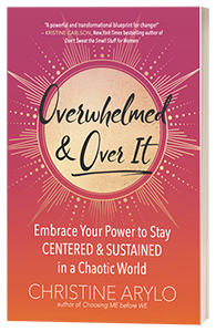 Overwhelmed and Over It Book by Christine Arylo